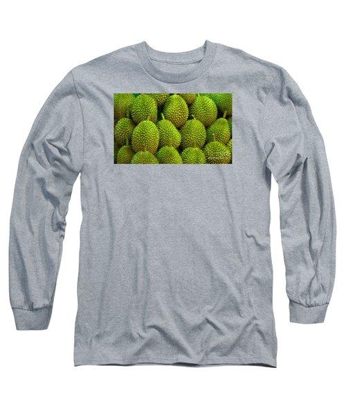 Durian Long Sleeve T-Shirt by Ranjini Kandasamy