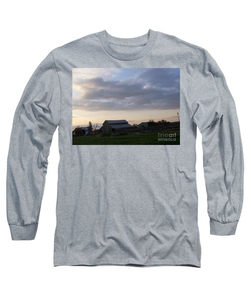 Long Sleeve T-Shirt featuring the photograph Dusk To Dawn by Bobbee Rickard