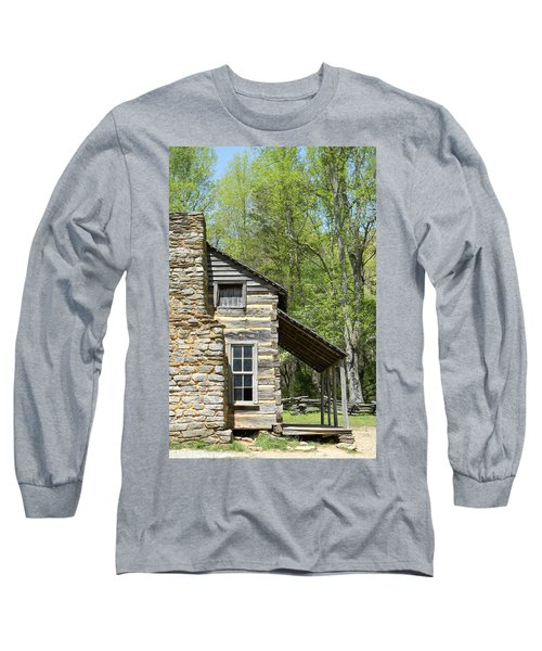 Early Appalachian Home Long Sleeve T-Shirt