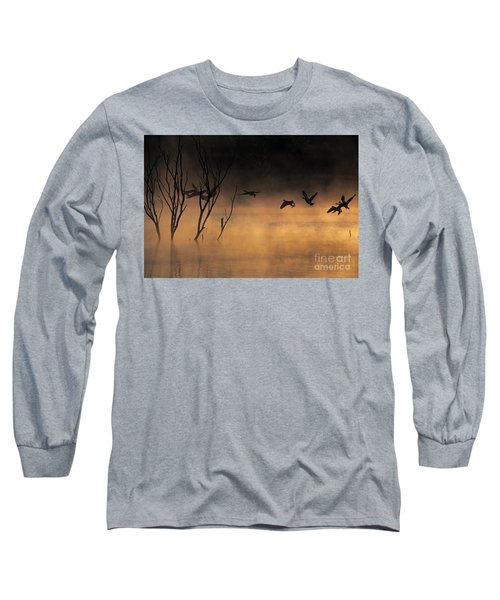 Early Morning Flight Long Sleeve T-Shirt