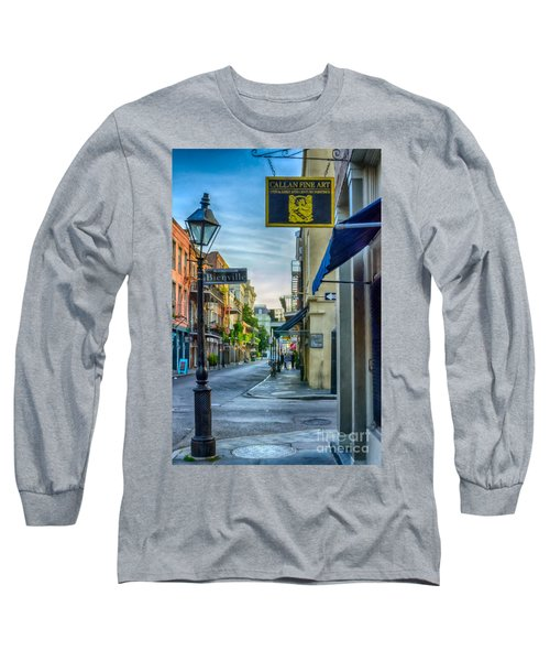 Early Morning In French Quarter Nola Long Sleeve T-Shirt