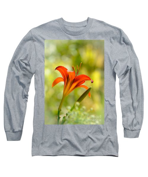 Early Morning Portrait Long Sleeve T-Shirt by Amy Porter