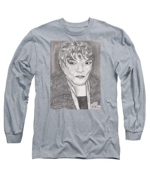 Eartha Kitt Long Sleeve T-Shirt