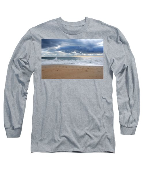 Earth's Layers - Jersey Shore Long Sleeve T-Shirt