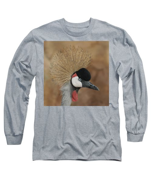 East African Crowned Crane Long Sleeve T-Shirt