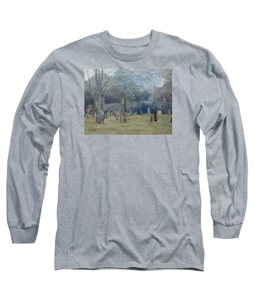 East End Cemetery Amagansett Long Sleeve T-Shirt