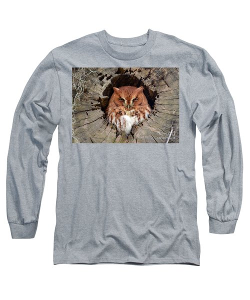 Eastern Screech Owl Long Sleeve T-Shirt