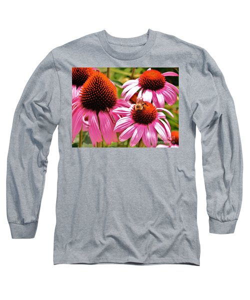 Long Sleeve T-Shirt featuring the photograph Ech 2 by Robin Coaker