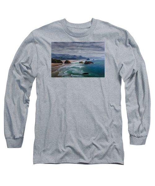 Ecola Viewpoint Long Sleeve T-Shirt by Rick Berk