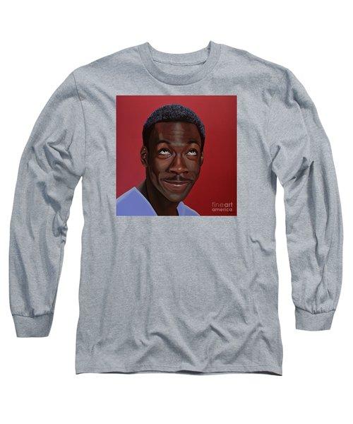 Eddie Murphy Painting Long Sleeve T-Shirt