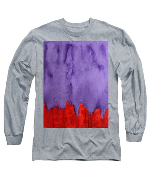 Edge Of The West Original Painting Long Sleeve T-Shirt