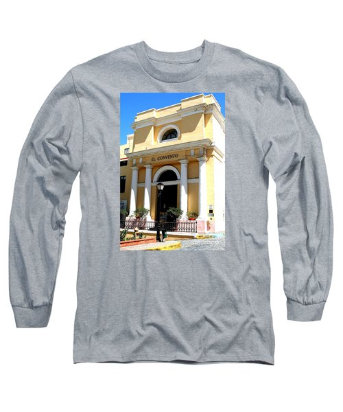 El Convento Hotel Long Sleeve T-Shirt by The Art of Alice Terrill