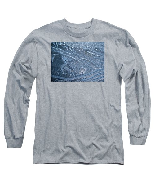 Long Sleeve T-Shirt featuring the photograph Elegant Blues by Joy Nichols