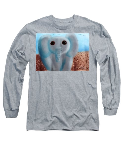 Animalart Elephant Long Sleeve T-Shirt