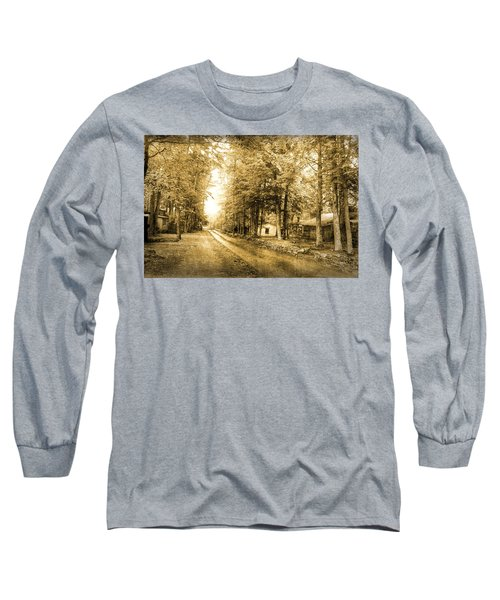 Elkmont Ghost Town Long Sleeve T-Shirt