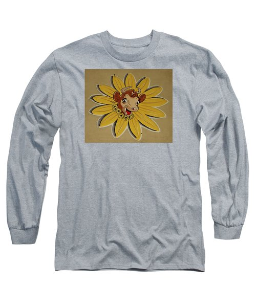 Elsie The Borden Cow  Long Sleeve T-Shirt by Chris Berry
