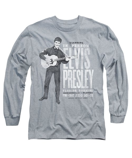Elvis - In Person Long Sleeve T-Shirt