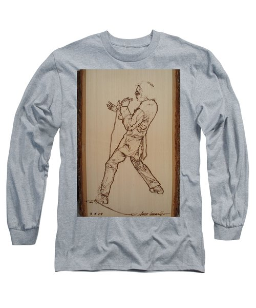 Elvis Presley - If I Can Dream Long Sleeve T-Shirt by Sean Connolly