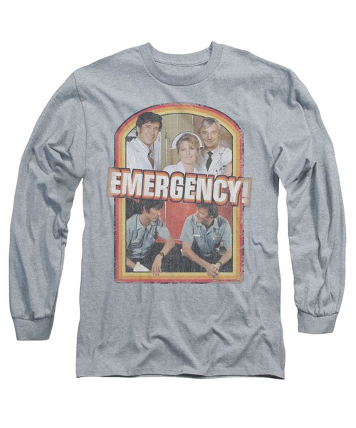 Emergency - Retro Cast Long Sleeve T-Shirt