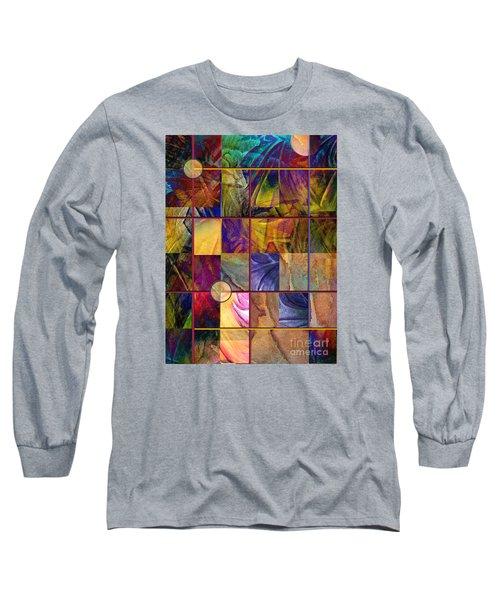 Emotive Tapestry Long Sleeve T-Shirt by Allison Ashton