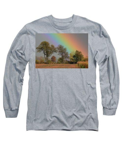 End Of The Rainbow Long Sleeve T-Shirt