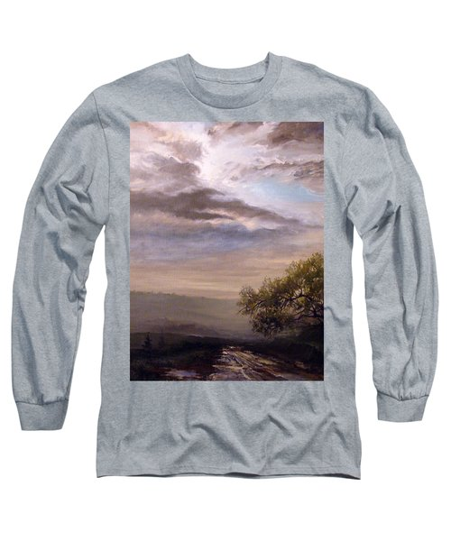 Endless Road Eternal Being Long Sleeve T-Shirt by Mikhail Savchenko