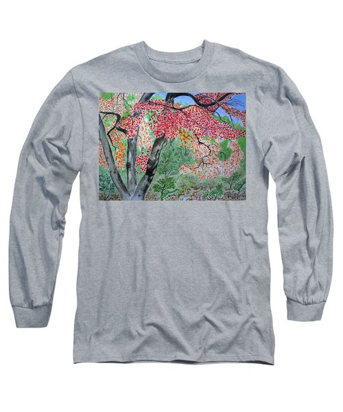 Enjoying Lost Maples Long Sleeve T-Shirt