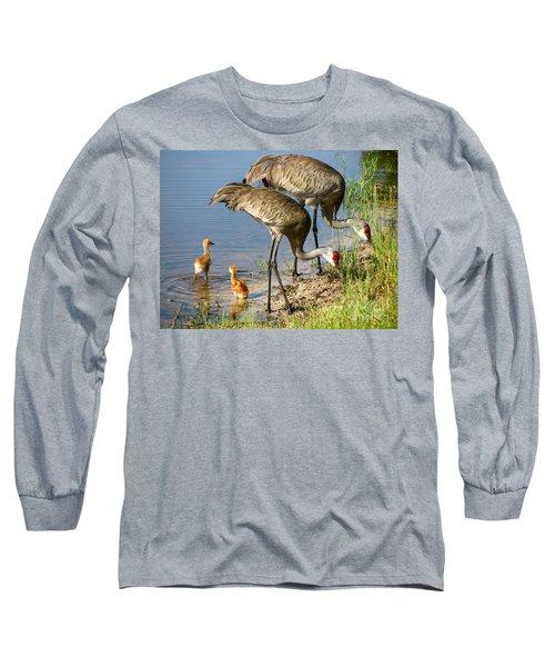 Enjoying The Water Long Sleeve T-Shirt