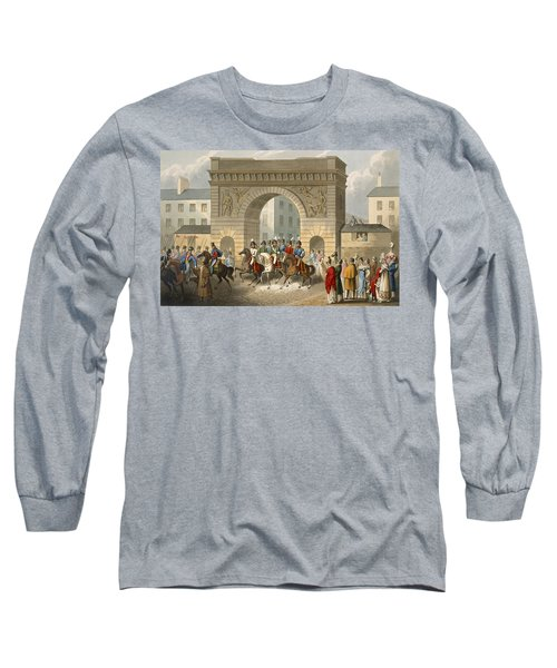 Entrance Of The Allies Into Paris Long Sleeve T-Shirt
