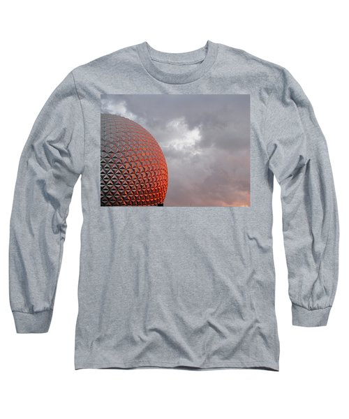 Long Sleeve T-Shirt featuring the photograph Epcot by Greg Simmons