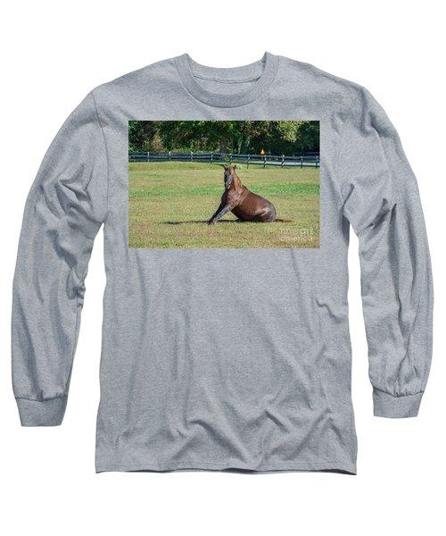 Equestrian Beauty Long Sleeve T-Shirt