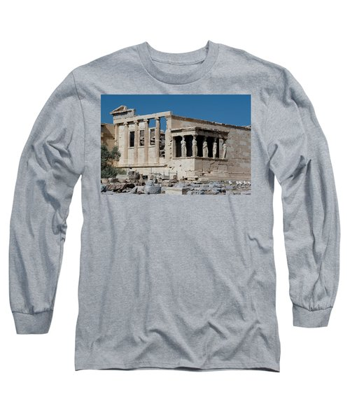 Erechtheion With The Porch Of Maidens Long Sleeve T-Shirt