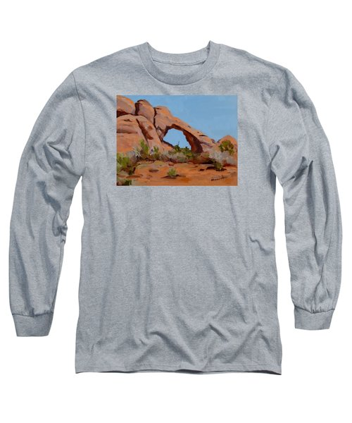 Erosion Long Sleeve T-Shirt by Pattie Wall