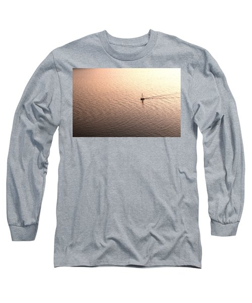 Long Sleeve T-Shirt featuring the photograph Escape by Lana Enderle