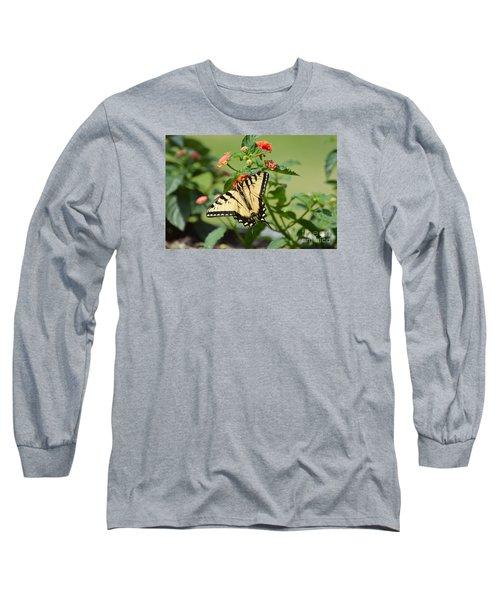 Evening Beauty Long Sleeve T-Shirt by Debbie Green