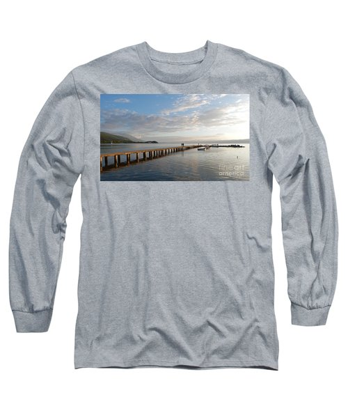 Evening - Lake Ohrid - Macedonia Long Sleeve T-Shirt