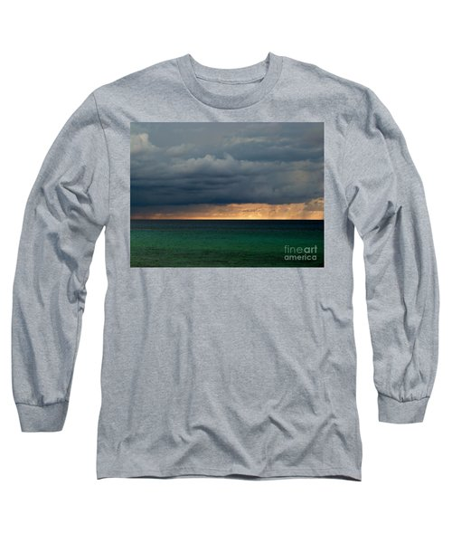 Evening Shadows Long Sleeve T-Shirt by Amar Sheow