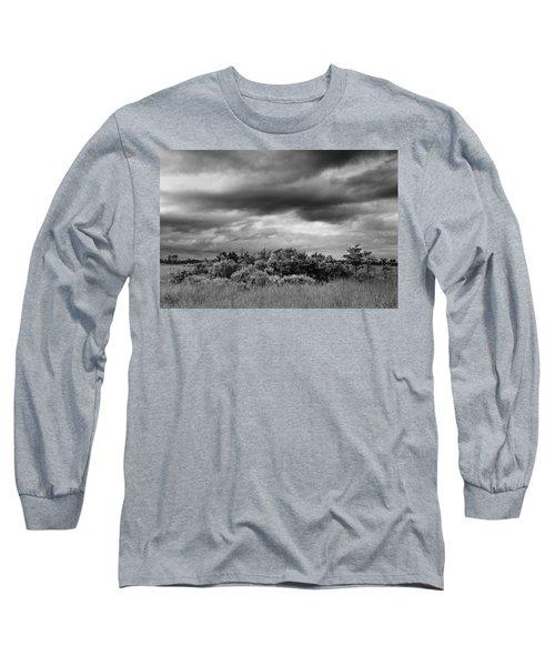 Everglades Storm Bw Long Sleeve T-Shirt