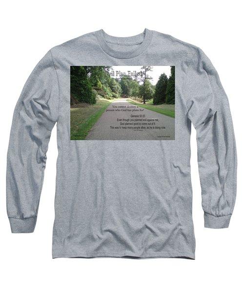 Evil Plan Failed Long Sleeve T-Shirt