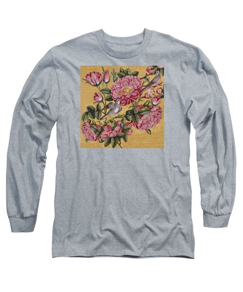 Excotic Camellias Long Sleeve T-Shirt by Enzie Shahmiri