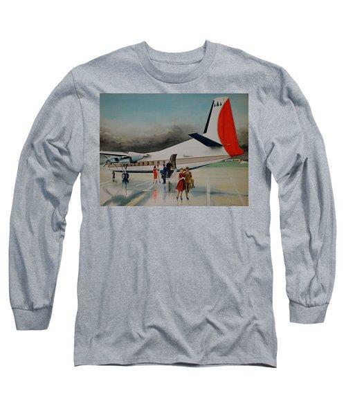 F-27 At Columbus Ohio Long Sleeve T-Shirt