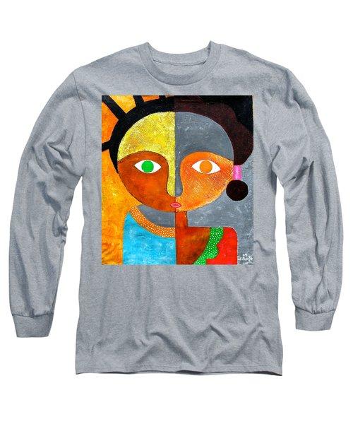 Face 2 Long Sleeve T-Shirt