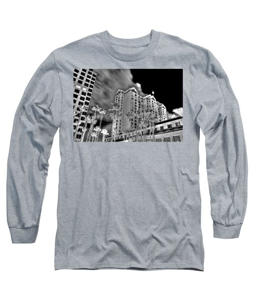 Fairmont From Plaza De Cesar Chavez Long Sleeve T-Shirt
