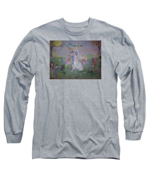 Fairy Wedding Long Sleeve T-Shirt by Judith Desrosiers