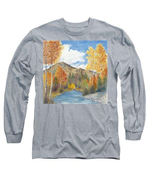 Fall Aspens Long Sleeve T-Shirt