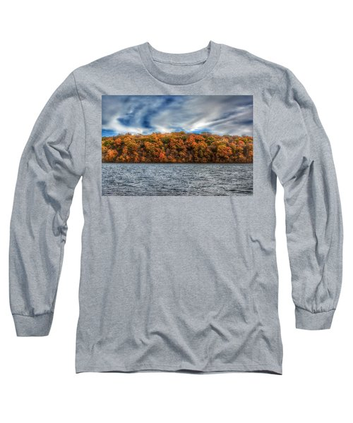 Fall At The Lake Long Sleeve T-Shirt