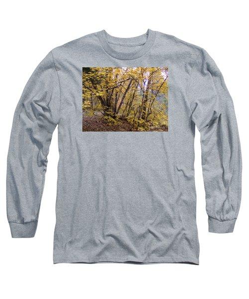 Fall Colors 6435 Long Sleeve T-Shirt by En-Chuen Soo