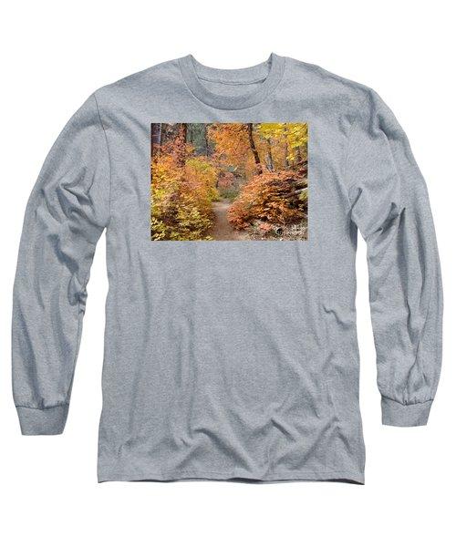 Fall Colors 6454 Long Sleeve T-Shirt by En-Chuen Soo