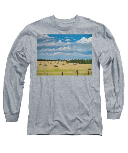 Fall Rounds Long Sleeve T-Shirt by Norm Starks