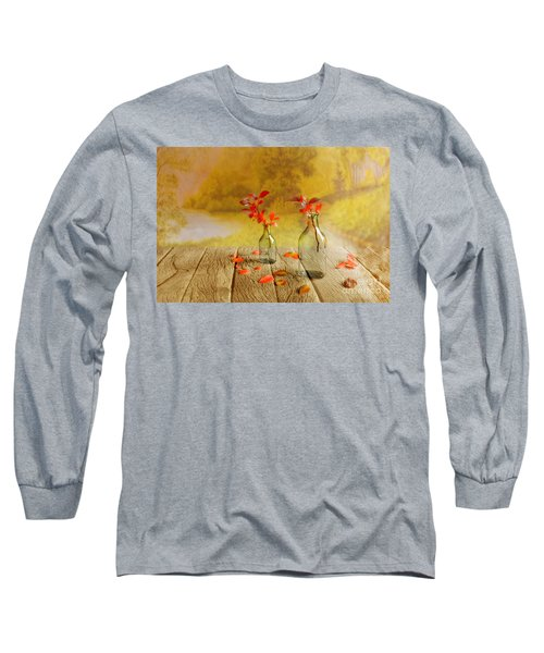 Fallen Leaves Long Sleeve T-Shirt